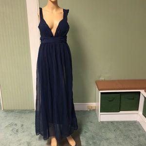Dresses & Skirts - Dark Blue long dress